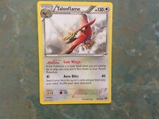 Pokemon cards Talonflame 96/114 Steam Siege rare near mint/mint.
