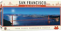 San Francisco California 1000 piece panoramic jigsaw puzzle 990mm x 330mm  (mpc)