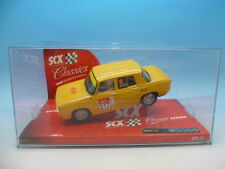 SCX 63800 Renault 8 TS yellow, mint unused boxed