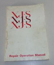 Atelier Manuel/workshop manual JAGUAR XJ-S/XJS à Partir De L'année de construction 1975 (Pre-He)
