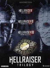 HELLRAISER TRILOGY (3 DVD) COFANETTO HORROR DI HELLRAISER
