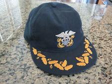 RRL RALPH LAUREN Double RL Baseball Hat Naval Captains Hat