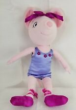 """Angelina Ballerina Plush Doll Madame Alexander 18"""" Mouse Periwinkle Outfit Soft"""