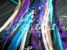 Feather extensions 10XL CRYSTAL Supreme 100% Grizzly Whiting Saddle Hackle