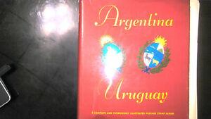 ARGENTINA/URUGUAY COLLECTION IN MINKUS ALBUM, MINT/USED