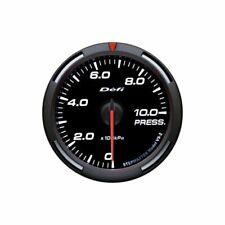 New Defi Racer Pressure Gauge 52mm - White