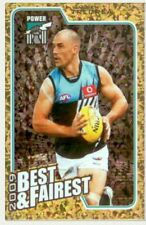 2010 AFL Herald Sun 2009  Best & Fairest  # BF11 Warren Tredrea Port Adelaide.