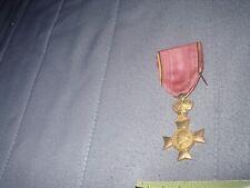 ancienne médaille vétérans Albert 1 1909-1934 complète + épingle