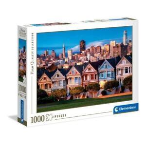 puzzle Clementoni 1000 pezzi PAINTED LADIES HQC High Quality 69x50 39605 OMAGGIO