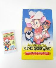 American Tail Fievel Goes West Official Movie Trading Card Box Lot Set 36Pc Bulk