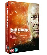 Die Hard 1-5 DVD Boxset Complete Collection All Movie Films 1 2 3 4 5 New UK