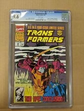 TRANSFORMERS #80 (Rare Last Issue) CGC 9.6 - White Pages Marvel Comics 1991