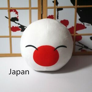 Polandball Dango Cushion Plush Doll Stuffed PIllows CosplayToy Kids Xmas Gift