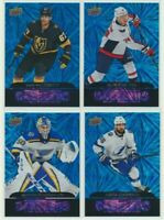 2020-21 UPPER DECK HOCKEY SERIES 1 Blue Dazzlers Pick Your Card Finish Your Set