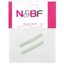 Fimo Scheiben - 3D Nail Art Stab Fimos Fingernägel Blumen Stangen | Blue Green