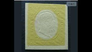talian States SARDINIA 1854 Printing Proof Unused A8P4F196