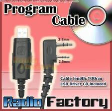 USB Prog. Cable for KG-UVD1P UV-5R KG-UVD1 PX-777 TG-UV2 free CD software
