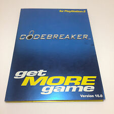 Codebreaker Code Breaker get MORE game Version 10 PS2 PlayStation 2 Codes Cheats