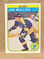 1982-83 OPC O-Pee-Chee #307 Joe Mullen RC Rookie Card