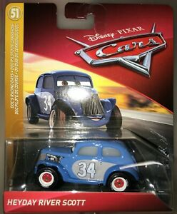Disney Pixar Cars - HEYDAY RIVER SCOTT - NEW UNOPENED