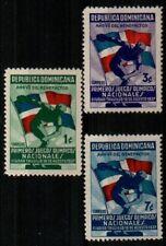 Dominican Republic Scott 326-8 Mint NH