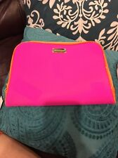 New Steve Madden E-Reader iPad Tablet Case Pink 2 Zippers Read Around 11.5x9