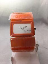 "Women's Nixon Watch ""The Vega"" Marble Orange - Analogue, Plastic/Resin"