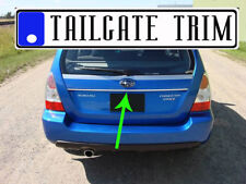 Suba TRIBECA 2006 2007 2008 2009-2014 Chrome Tailgate Trunk Trim Molding