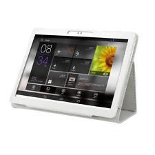 10 / 10,1 Zoll Tablet PC Universal Tasche Hülle Schutz Case Cover Etui Weiß