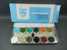 Kryolan Supracolor Theatre makeup lot  Kryolan colorful stage makeup Kryalon