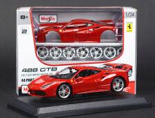 FERRARI 488 GTB 1:24 car diecast KIT model car die cast models toy cars racing