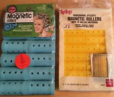 Beauty Shop 12-18 Magnetic Rollers Bouffant Wil-Hold & TipTop New Old