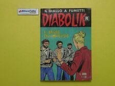 J 4590 RIVISTA IL GIALLO A FUMETTI DIABOLIK IL BRIVIDO DELL'IMPREVISTO 2001