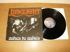 LP (Belgium press) - LIMELIGHT : ASHES TO ASHES - MAUSOLEUM 8309