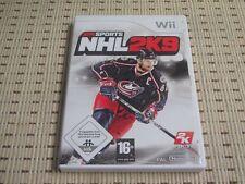NHL 2k9 para Nintendo Wii y Wii U * embalaje original *