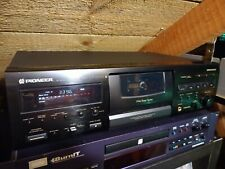 More details for pioneer ct-s550s 3 head cassette deck with manual in good working order!