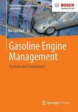 Gasoline Engine Management: Systems and Compone, Reif-,