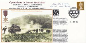 Operation in Burma 1944 - 45 Ben J Chapple Served 2nd Division from 1943 - 1945