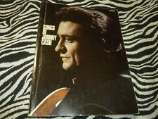 Songs Of Johnny Cash Sheet Music Book - Used Good Condition!!!