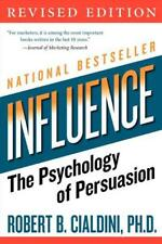 Influence: The Psychology of Persuasion by Robert Cialdini, NEW Book, FREE & FAS