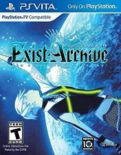 Exist Archive: The Other Side Of The Sky [Sony PlayStation Vita PSV] Brand New