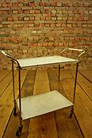 Serviertisch Servierwagen Barwagen Mategot Vintage Beistelltisch Teewagen 50er