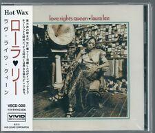 Laura Lee Love Rights Queen Japan CD w/obi VSCD-028
