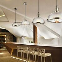 Glass Pendant Light Home Lamp Bar LED Ceiling Lights Kitchen Chandelier Lighting