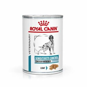 Royal Canin Veterinary Diet Canine Sensitivity Control Wet Dog Food, 12x420g
