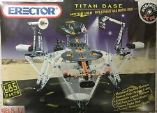 Erector Motorized Titan Base With With Separate Solo Shuttle Craft