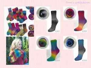 Flotte Socke 4fach Kolibri von Rellana - (5,95€/100g) Lace alle Farben!
