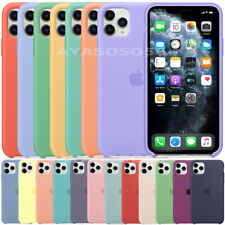 FUNDA PARA IPHONE 11 PRO MAX XS XR X 7 8 PLUS ORIGINAL SILICONA OEM CARCASA CASE