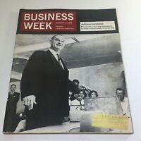 Business Week Magazine: November 7 1964 - Johnson Landslide President 4-Year's