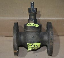 """GP Stop Gate valve 1.5 inch 1 1/2"""" BS2060 (BS5154) copper alloy flanged"""